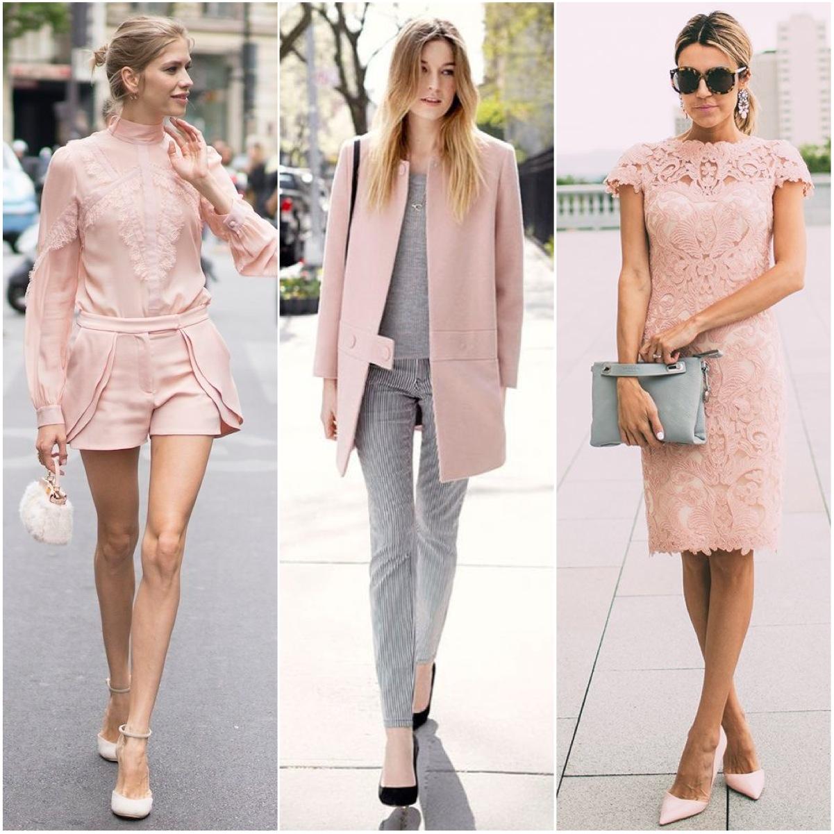 rosa quartz na moda